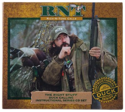 Rich N Tone ''the Right Stuff'' Duck Calling Instructional Series 3 Cd Box Set
