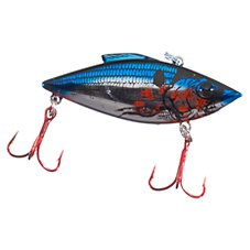Chrome Blue Bleeding Shad