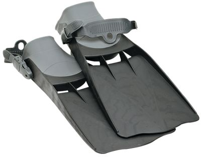 HIGH THRUST STEP-IN KICK FINS for Fly Fishing Float Tube Personal Watercraft Fin
