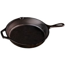 Lodge Cast-Iron Skillet with Assist Handle