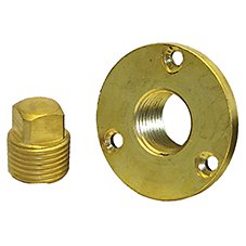 Bass Pro Shops Garboard Drain and Plug