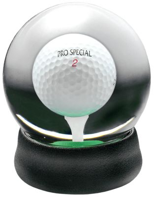 Clubhouse Collection Golf Ball Water Globe