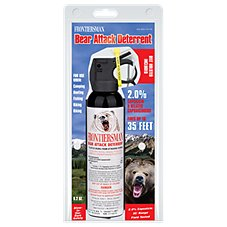 Sabre Frontiersman Bear Attack Deterrent with Holster