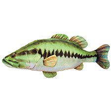Bass Pro Shops Giant Stuffed Bass for Kids Image