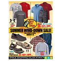 Click here to view the Summer Wind-Down Sale! - 8/12 Thru 8/28 circular online.