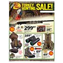 Click here to view the Turkey Hunting Sale! - 4/4 Thru 5/1 circular online.