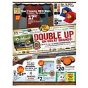 Click here to view the Double Up on Great Brands! - 3/31 Thru 4/16 circular online.