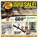 Click here to view the Predator Hunting Sale! - 2/17 Thru 3/5 circular online.