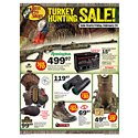 Click here to view the Turkey Hunting Sale! - 2/24 Thru 3/19 circular online.
