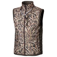 Drake Waterfowl MST Synthetic Down Two-Tone Pac-Vest for Men