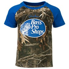 Bass Pro Shops TrueTimber Raglan Shirt for Toddlers or Kids