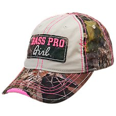 Bass Pro Shops Girl Logo Cap for Youth