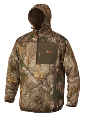 Image of Drake Non-Typical Endurance 1/4-Zip Hoodie with Agion Active XL for Men - Realtree Xtra - 3XL