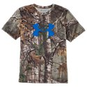 Under Armour Logo Graphic Camo T-Shirt for Boys