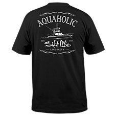 Salt Life Aquaholic T-Shirt for Men
