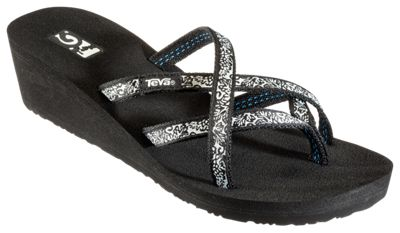 Teva Mandalyn Wedge Ola 2 Thong Sandals for Ladies  by