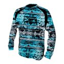 Pelagic VaporTek Coral Camo Sun Shirt for Men
