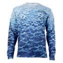Salt Life Metal Seas SLX UVapor Long-Sleeve Pocket T-Shirt for Men