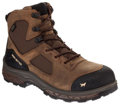 Irish Setter Kasota Waterproof Side-Zip Safety Toe Work Boots for Men  by