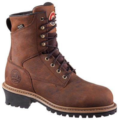 Irish Setter Mesabi Waterproof Steel Toe Work Boots for Men  by