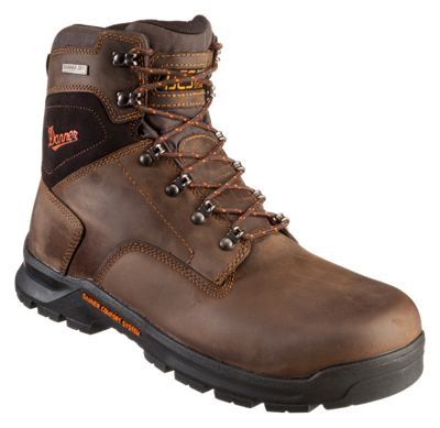 Danner Crafter Waterproof Non-Metallic Safety Toe Work Boots for Men  by