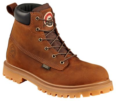 Irish Setter Hopkins Waterproof Safety Toe Leather Work Boots for Men  by