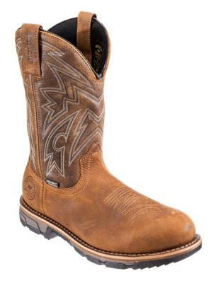 Irish Setter Marshall Waterproof Steel Toe Western Work Boots for Men  by