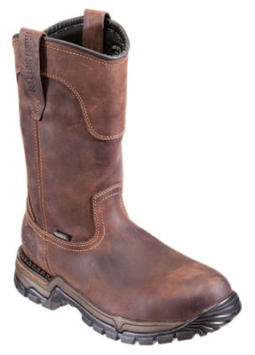 Irish Setter Two Harbors Waterproof Steel Toe Pull On Work Boots for Men  by
