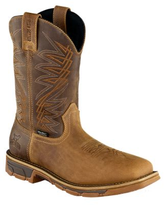 ‹Irish Setter Marshall Waterproof Western Work Boots for Men  by