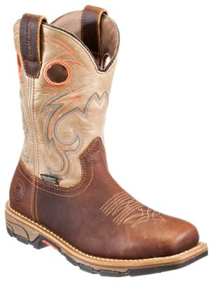 Irish Setter Marshall Waterproof Square Toe Western Work Boots for Ladies  by