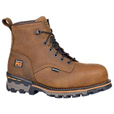 Timberland Pro Boondock 6'' Waterproof Safety Toe Work Boots for Men