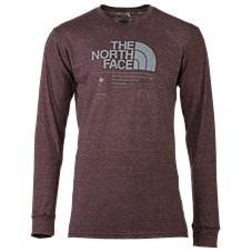 The North Face Logo Stack Tri-Blend T-Shirt for Men