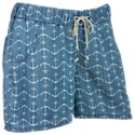 Natural Reflections Chambray Shorts for Ladies