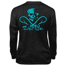 Salt Life Skull and Hooks T-Shirt for Kids