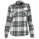 Natural Reflections Heavy Brushed Flannel Shirt for Ladies