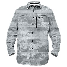 Pelagic Eclipse Pro Series Coral Camo Shirt for Men