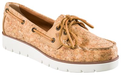 Sperry Azur Cora Cork Boat Shoes for Ladies  by
