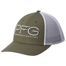 Columbia PFG Mesh Snap Back Logo Ball Cap