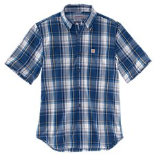 Carhartt Essential Plaid Button-Down Shirt for Men