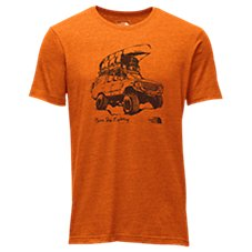 The North Face Off Road Tri-Blend Short-Sleeve T-Shirt for Men