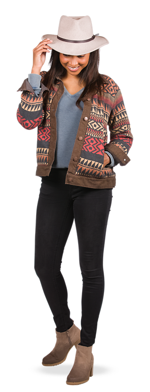 Get the Knit Jacket Look