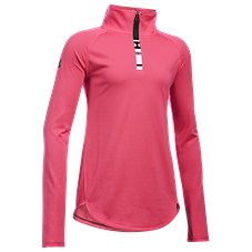 Under Armour Tech 1/4 Zip Pullover for Girls​