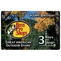 Bass Pro Shops Birthday Gift Card