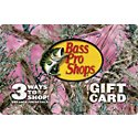 Bass Pro Shops Pink Camo Gift Card