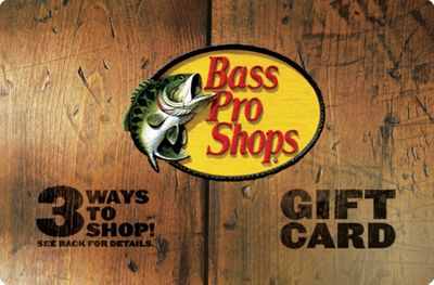 Bass Pro Shops Wood Gift Card