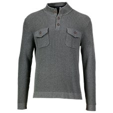 Bob Timberlake Button Mock Sweater for Men