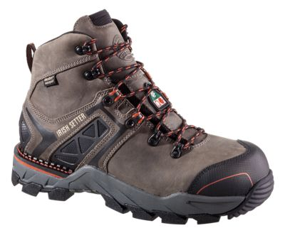 Irish Setter Crosby Swen-Flex Waterproof Safety Toe Work Boots for Men  by