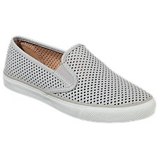 Sperry Seaside Perf Leather Loafers for Ladies