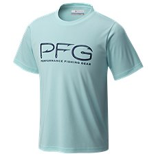 Columbia PFG Hooks Short-Sleeve T-Shirt for Boys