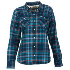Natural Reflections Flannel Shirt Jacket for Ladies